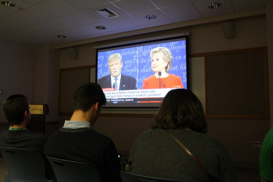 First+Debate+Injects+Contention+into+Upcoming+Election