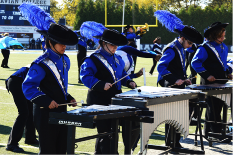 Moravian Marching Band Stomps Out Another Successful Season