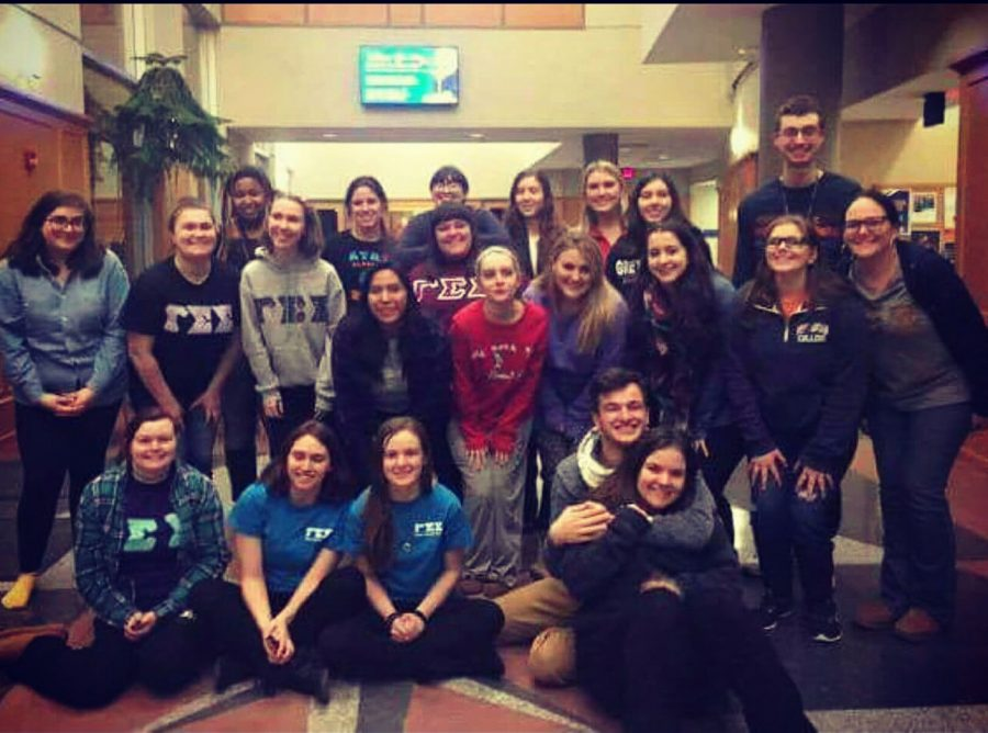The+current+members+of+Gamma+Sigma+Sigma.