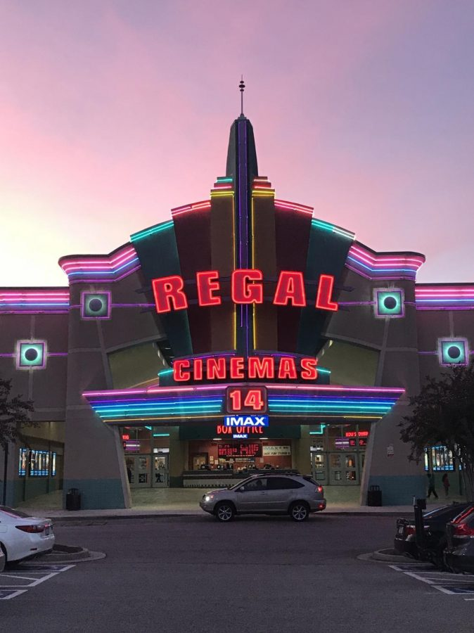 Photo of movie theater.