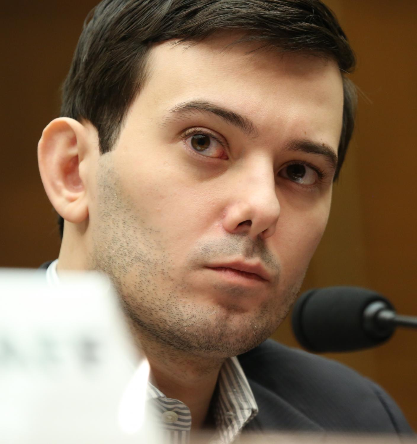 Shkreli in 2016. Photo via Wikimedia Commons under Creative Commons License.