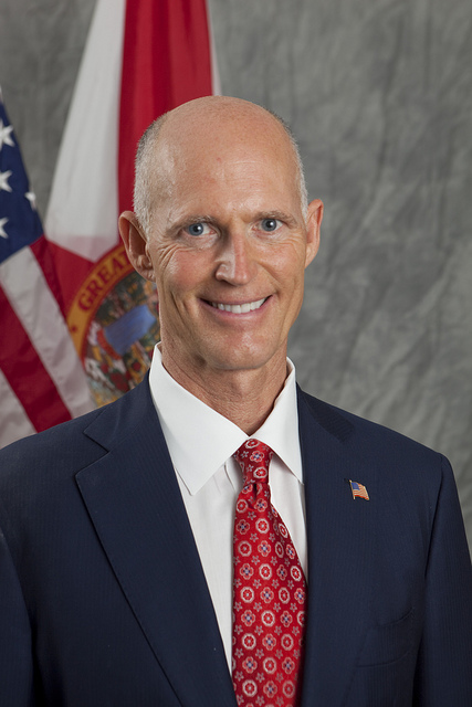 Governor Elect Rick Scott poses for portraits at the Hilton Marina Hotel on Thursday, November 4, 2010, in Fort Lauderdale, FL. Photo by Shealah Craighead.