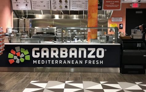 Photograph of Garbanzo grill at Moravian College.