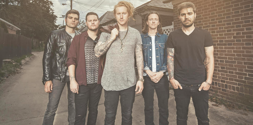 Photo features We the Kings. Obtained from MAC poster.