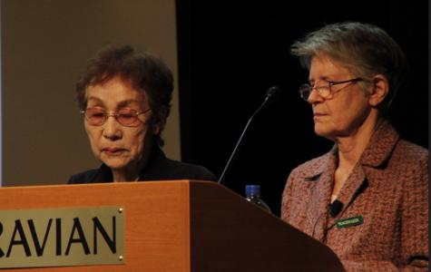 Hiroshima Survivor Emiko Okada Visits Moravian To Share Her Story