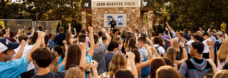 A shot from Freshmen Orientation last fall. Photo Courtesy of: moravian.edu