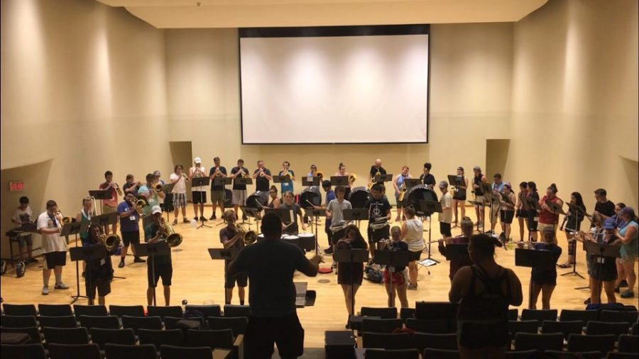 Behind the Scenes of Band Camp