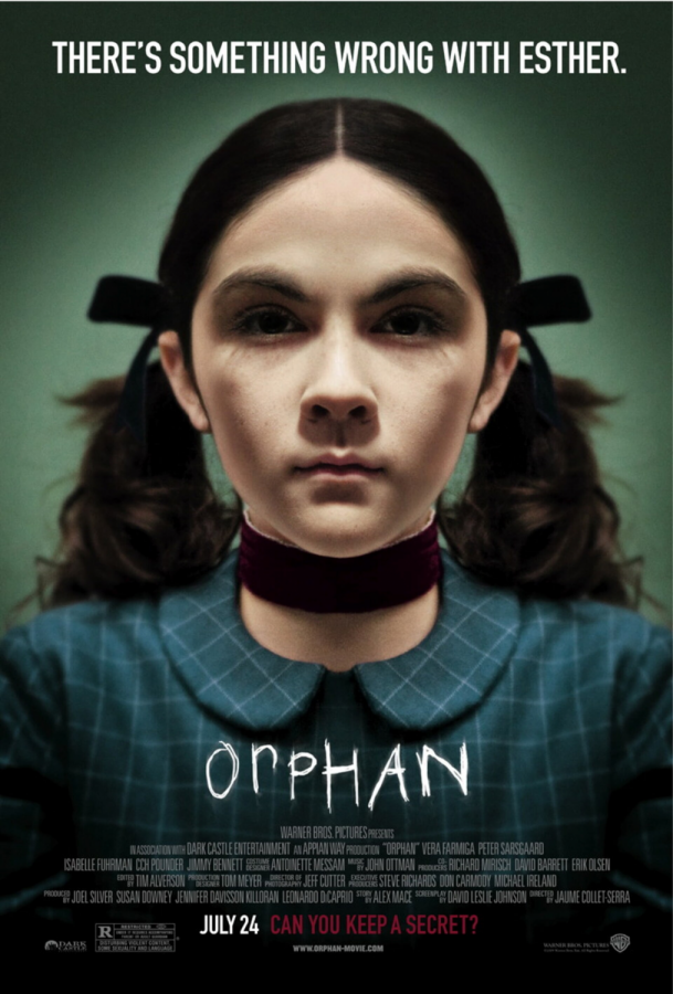 the movie poster for orphan