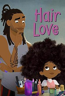 "The cover of the short film ""Hair Love""; Photo Courtesy of: wikipedia.com"
