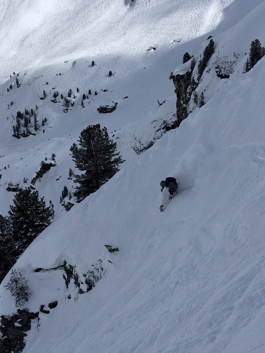 John Mikovits's trip skiing reminds us of the winter months that we are leaving behind us.