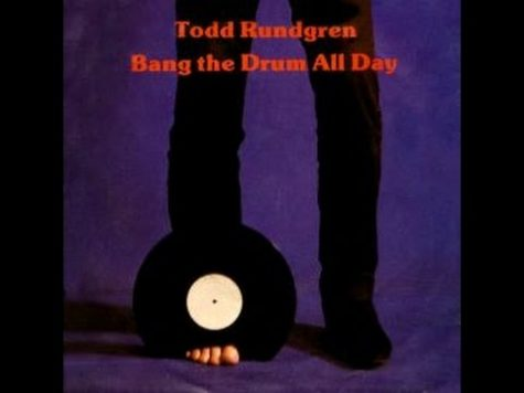 """Bang On The Drum All Day"" album art; Photo Courtesy of: youtube.com"