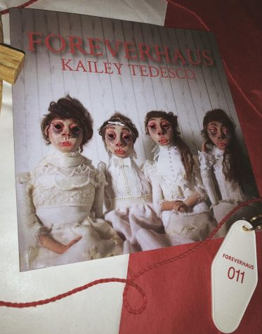 """FOREVERHAUS"" book cover photo courtesy of Kailey Tadesco"