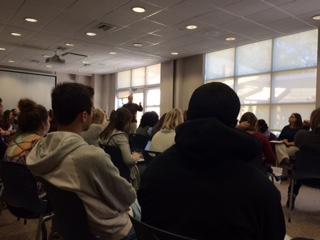 Friday Forums Get Campus Talking