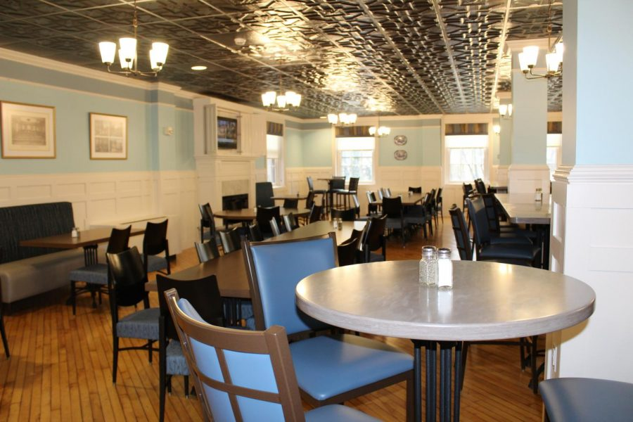 Photo of Clewell Dining Hall.