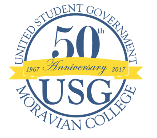Picture features United Student Government 50th anniversary logo.