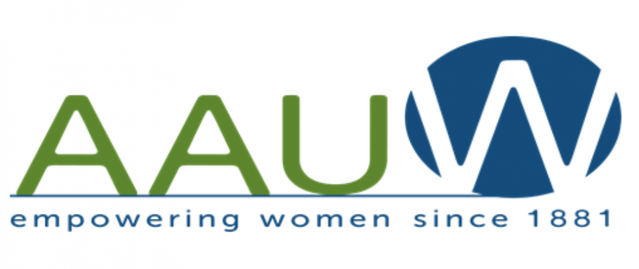 The logo of AAUW