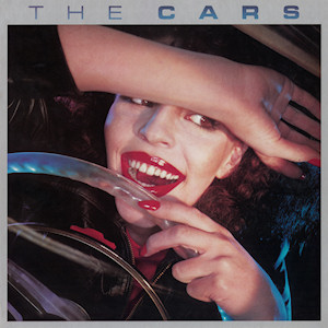 The album art for the featured album by the Cars.