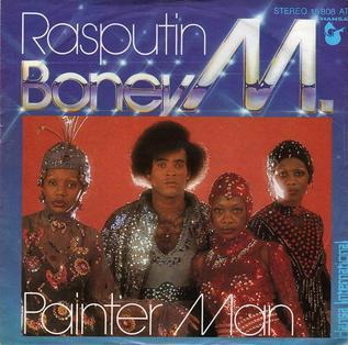 the album cover of Boney M's Rasputin