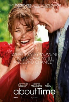 About Time movie poster; Photo Courtesy of: wikipedia.com