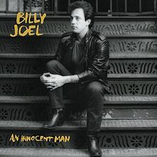 An Innocent Man album cover from artist Billy Joel; Photo Courtesy of: wikipedia.com