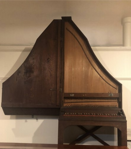 Moravian upright piano