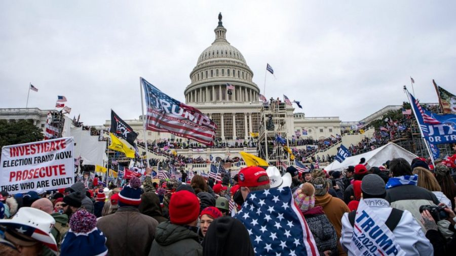 Outside the US Capitol on January 6th. Photo Courtesy of abcnews.go.com